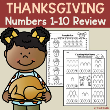 Thanksgiving: Numbers 1-10