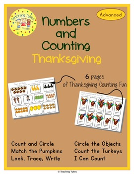 Thanksgiving Number sense and Numeration Numbers and Counting