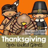 Thanksgiving: Open-Ended Games