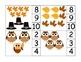 Thanksgiving Owl Clothespin Math to 20