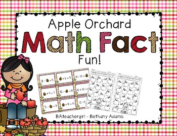 Apple Orchard Math Fact Fun ~*Addition & Subtraction~*