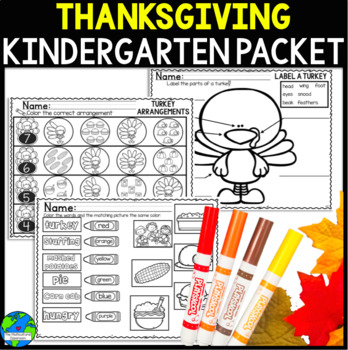 Thanksgiving Packet UPDATED! Now includes a journal and tw