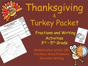 Thanksgiving Packet - Upper Elementary