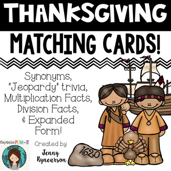 Thanksgiving Partnership Slips (or Matching Cards)!!!