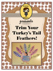 Thanksgiving Parts of Speech & Writing Prompt Trim Your Tu