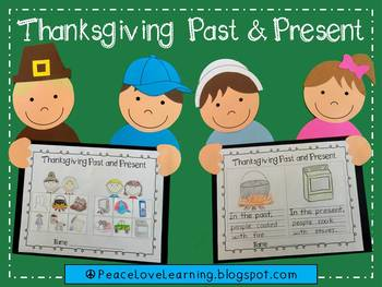 Thanksgiving Past and Present Craftivity