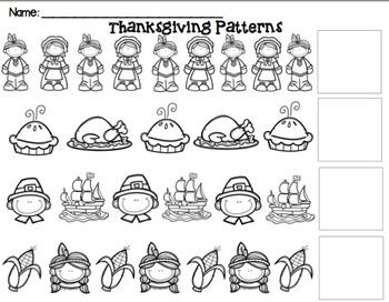 Thanksgiving Pattern Pack