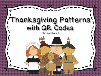 Thanksgiving Patterns with QR Codes