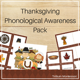 Thanksgiving Phonological Awareness Pack