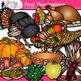 First Thanksgiving Clip Art {Pilgrim & Native Americans Graphics}