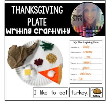 Thanksgiving Plate Craftivity