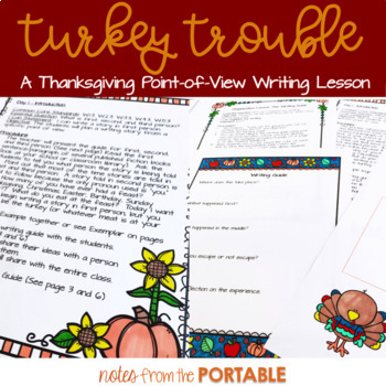 Turkey Trouble: A Thanksgiving Writing Lesson