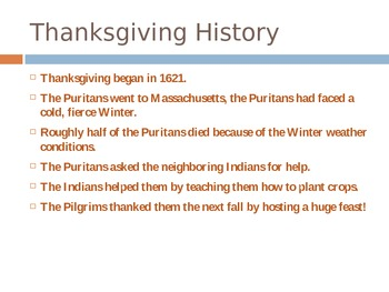 Thanksgiving Powerpoint!