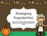 Thanksgiving Pragmatics Pack