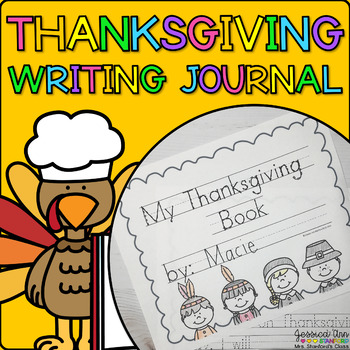 Thanksgiving {Predictable Writing Journal}