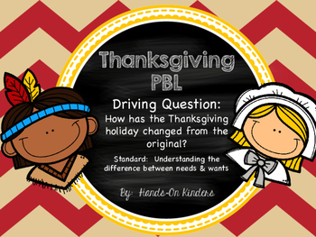 Thanksgiving Problem Based Learning Activity