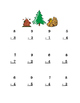 Thanksgiving Pumpkin Turkey Subtraction Single-Digit Math