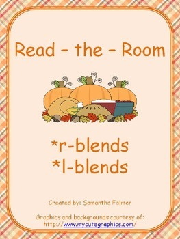 Thanksgiving Read the Room - Blends