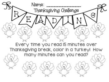 Thanksgiving Reading Challenge!