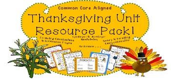 Thanksgiving Resource Pack!