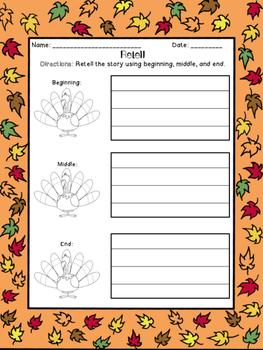 Thanksgiving Retell