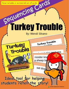 Thanksgiving Retell and Sequence Cards: Turkey Trouble