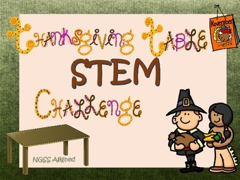 Thanksgiving STEM table challenge