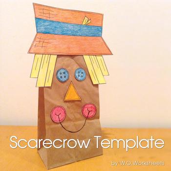 Halloween - Fall Scarecrow Craft