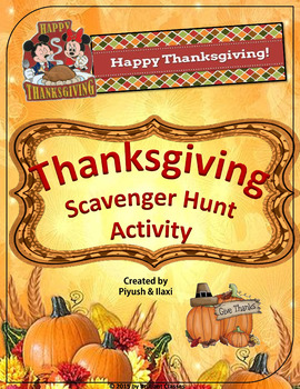 Thanksgiving Activity - 2