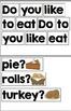 Thanksgiving Scrambled Sentences for Pocket Chart