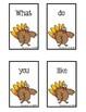 Thanksgiving Sentence Scramble FREEBIE