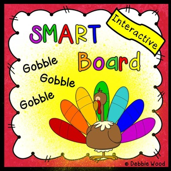 Thanksgiving Smartboard:  Turkey Time Fun for Preschool & Kinder