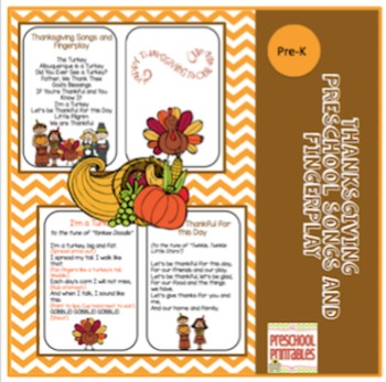 Thanksgiving Songs and Fingerplay