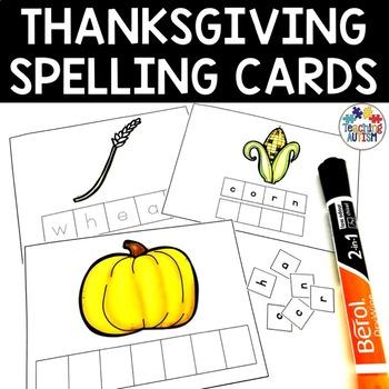 Thanksgiving Spelling