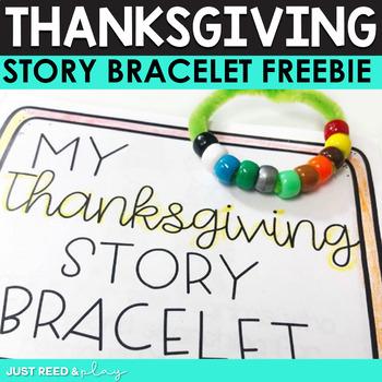 Thanksgiving Story Bracelet Freebie