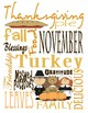 Thanksgiving Subway Art and Activity Pack