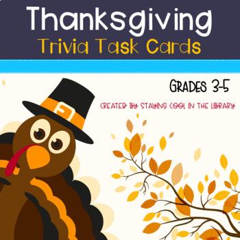 Thanksgiving Task Cards