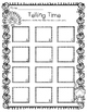 Thanksgiving Telling Time Task Cards