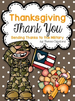 Thanksgiving Thank You to Military Personnel