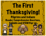 Thanksgiving-The First Thanksgiving Reader, Comprehension,