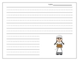 Thanksgiving Thematic Writing Paper {FREEBIE}