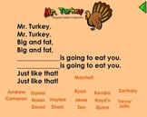 Thanksgiving Theme for the Smartboard