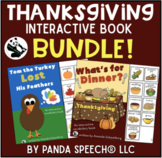 Thanksgiving Themed Interactive Book BUNDLE! 10% Savings
