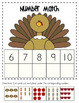 Thanksgiving Themed: Math Centers Printables