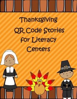 Thanksgiving Themed QR Code Stories *Mega Pack* for Listen