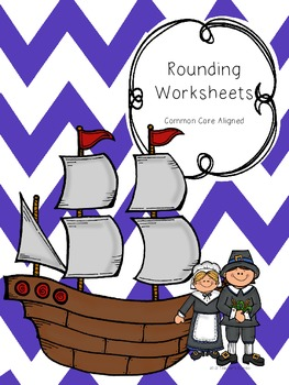 Thanksgiving Math Rounding Worksheets