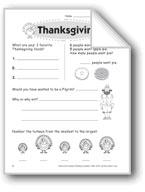 Thanksgiving (Thinking Skills)