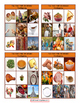 Thanksgiving Tic-Tac-Toe or Bingo Board Game