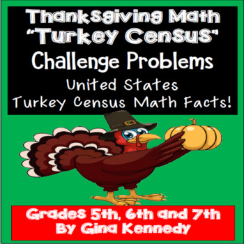 Thanksgiving Turkey Math Problem-Solving! Engaging Holiday