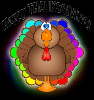 Thanksgiving Turkey Color Wheel